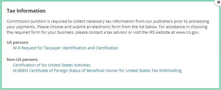 CJ 联盟完善税务信息
